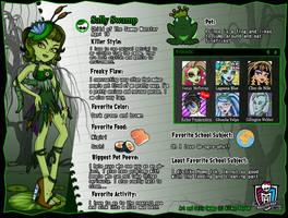 Monster high. Sally Swamp by AilwynRaydom