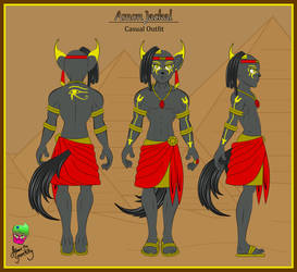 Amon Jackal Casual Outfit Ref