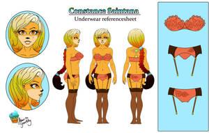 Constance-Saintana-underwear- ref by AilwynRaydom