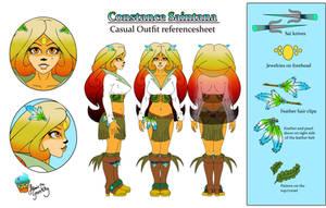 Constance-Saintana-casual-outfit ref by AilwynRaydom