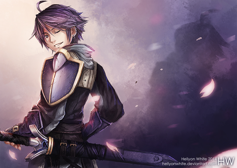 Inigo (commission) by HellyonWhite
