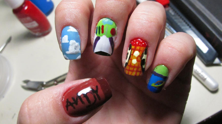 Toy Story Nails By Tharesek On DeviantArt