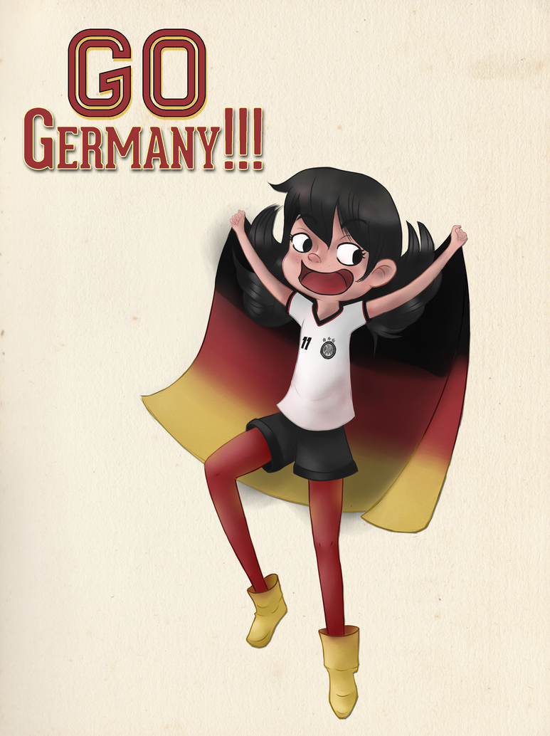 Go Germany!!! by tharesek