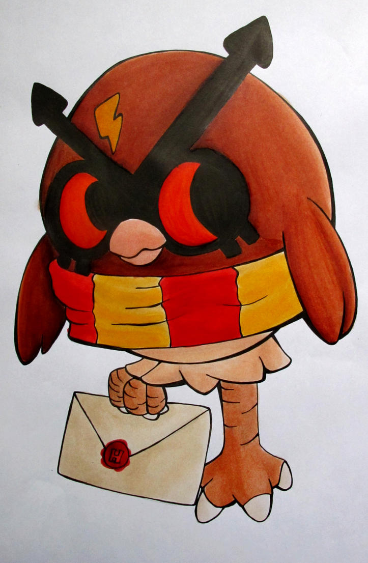 Hoothoot Potter by tharesek
