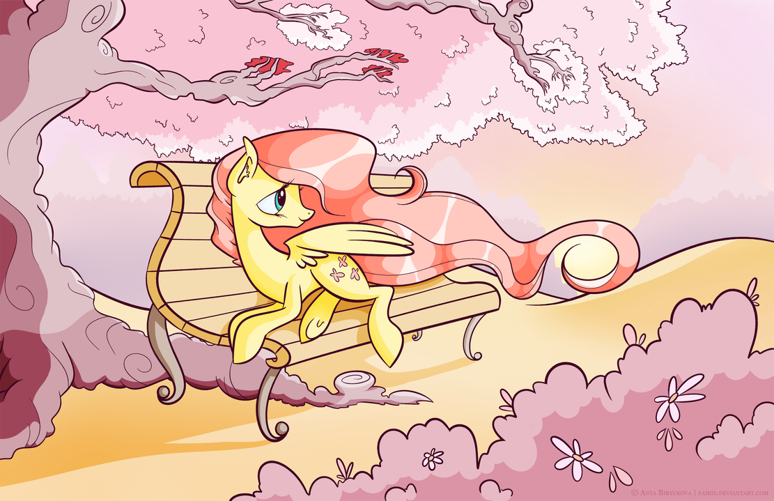 Spring Sunset by Faikie