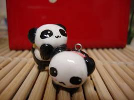 kawaii panda sushi by cutieexplosion