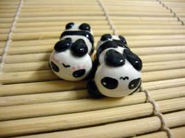 kawaii panda sushi tummy by cutieexplosion