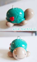 jimmy the turquoise turtle by cutieexplosion