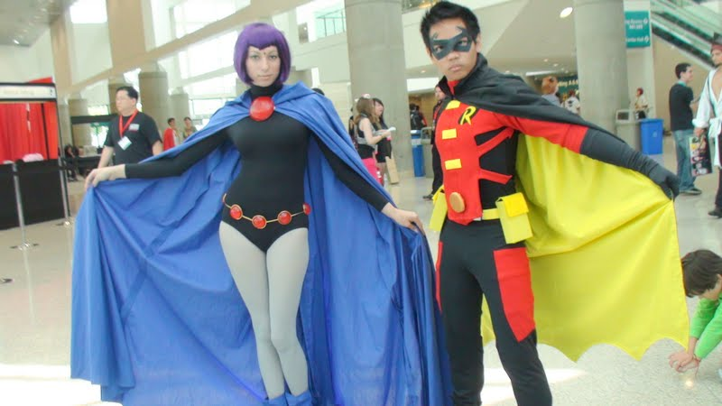 Amateur Cosplay Raven From Teen Titans