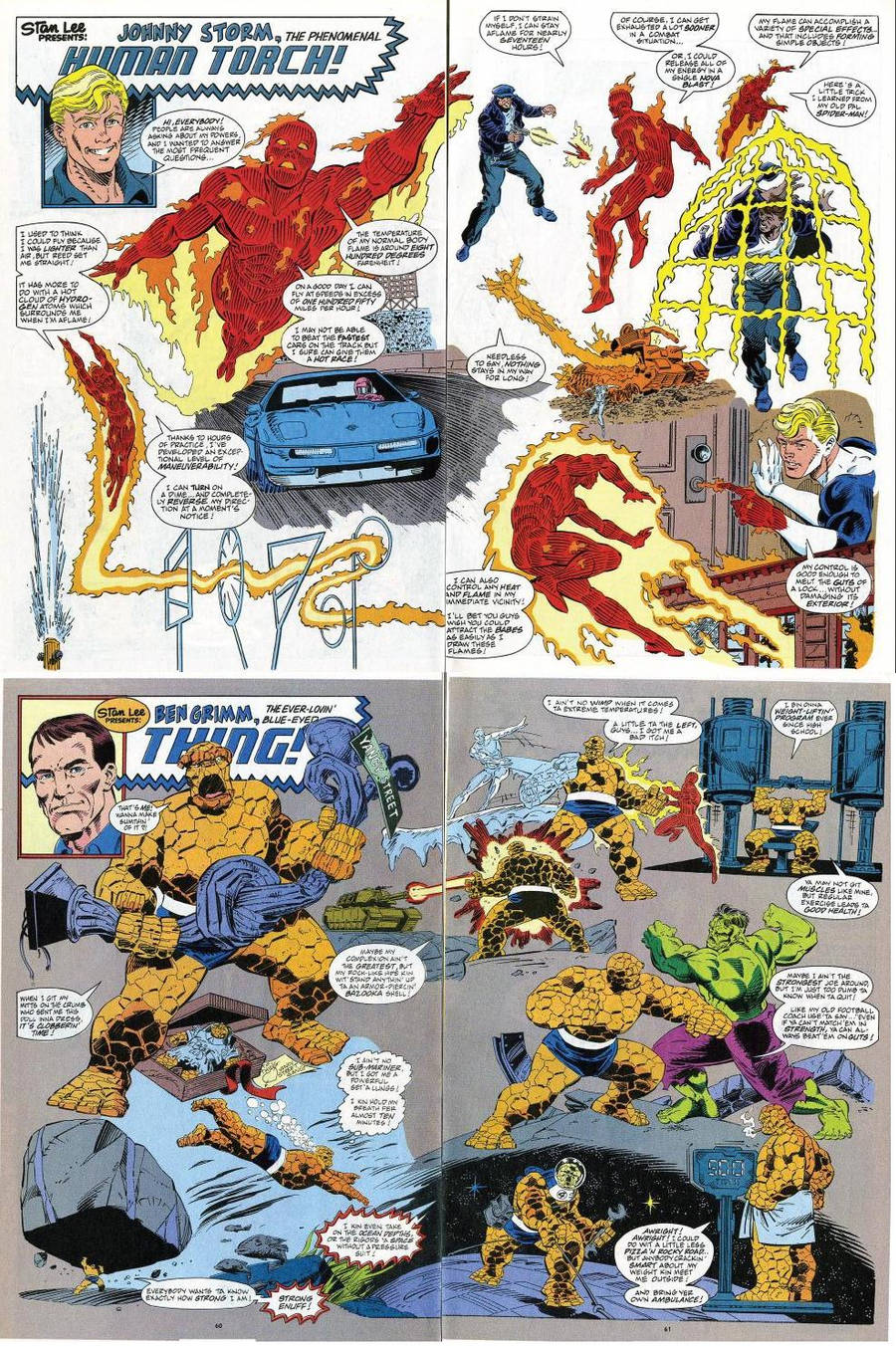 1991 Human Torch and Thing 358 by trivto on DeviantArt