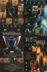 Merchandises from 1997 Spawn The Movie by trivto