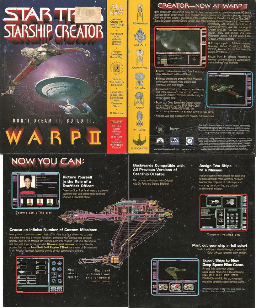 Star Trek Starship Creator For Mac And Pc Software By Trivto On Deviantart