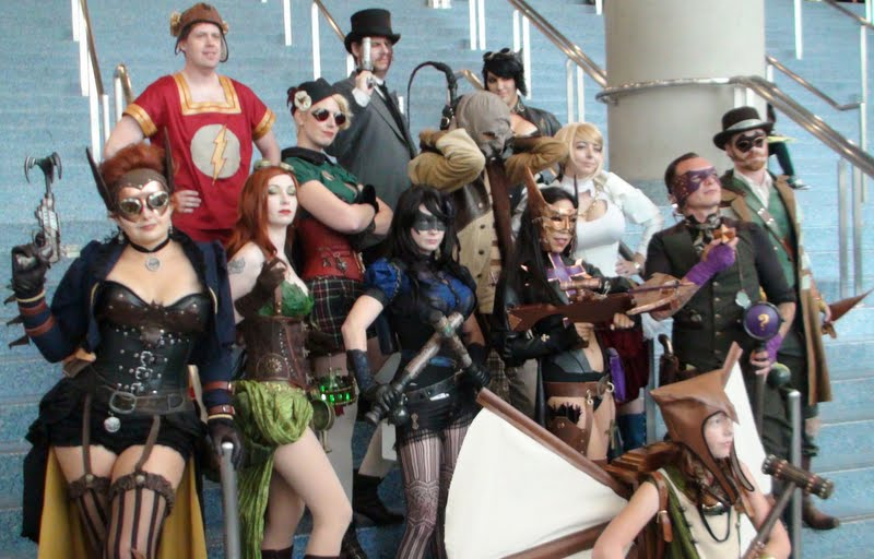 Best Cosplay Team of Steampunk DC Characters by trivto on DeviantArt