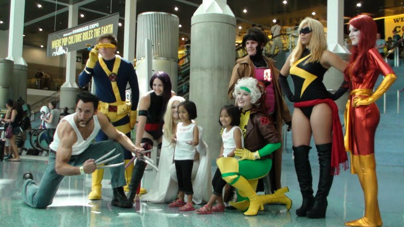 Best Cosplay Team of Marvel X-Men