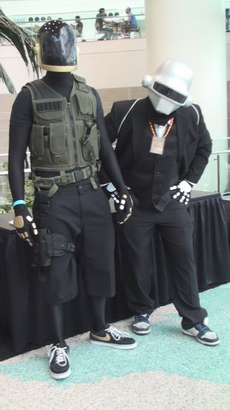 Anime Characters Born On October 8 : Daft punk at anime expo by trivto on deviantart