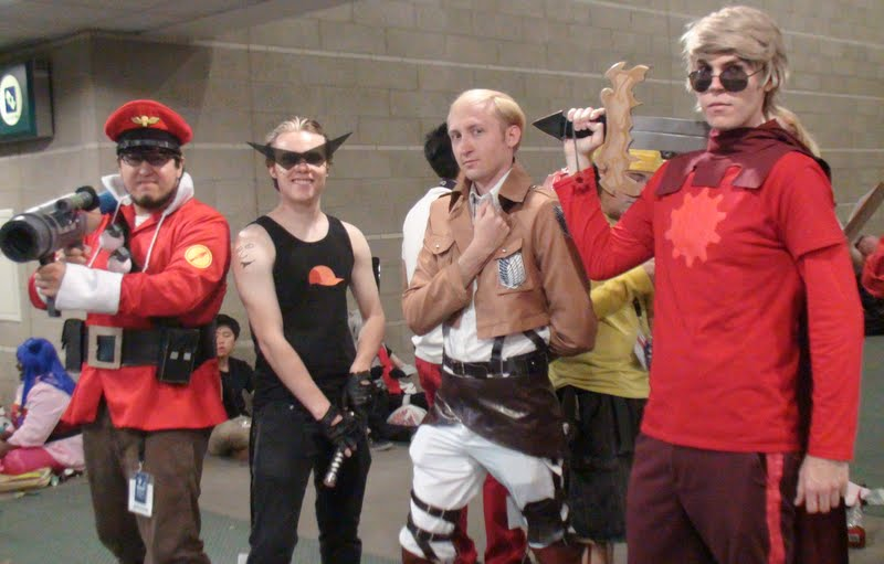 Team Fortress 2 Attack On Titan And Homestuck By Trivto