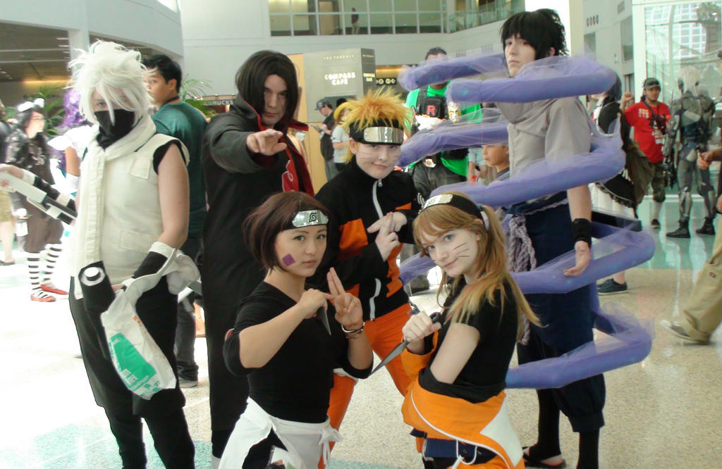 Naruto Anime Cosplay - HD Wallpaper Gallery