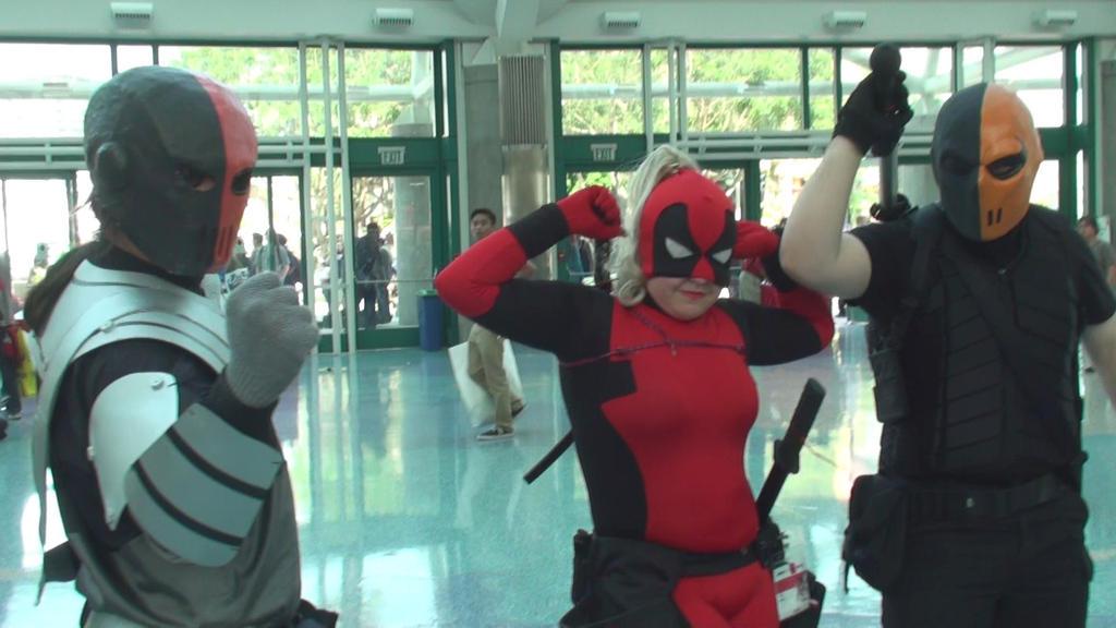 Deathstroke as Slade, Lady Deadpool, Deathstroke by trivto