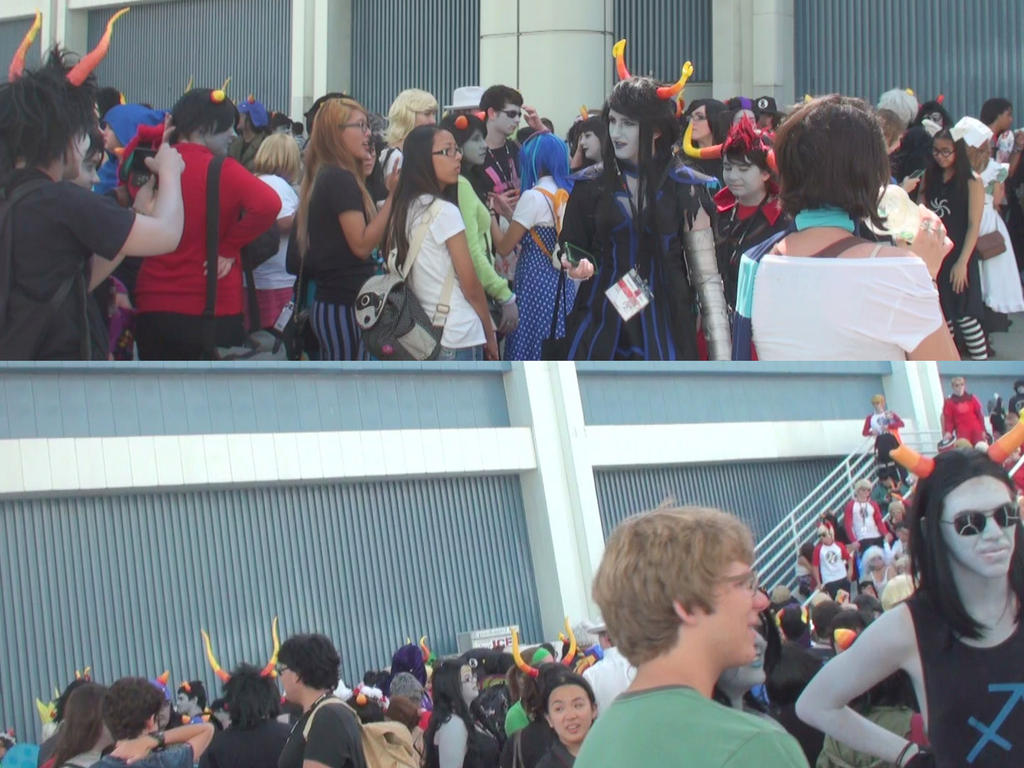 Homestuck Gathering At Anime Expo 2013 By Trivto