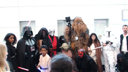 Characters at Star Wars Celebration 2015