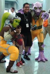 Star Wars Rebels at Star Wars Celebration 2015