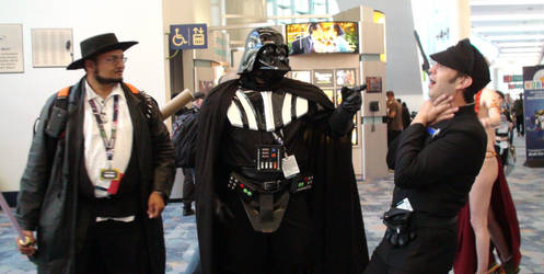 Vader's Fist at Star Wars Celebration 2015