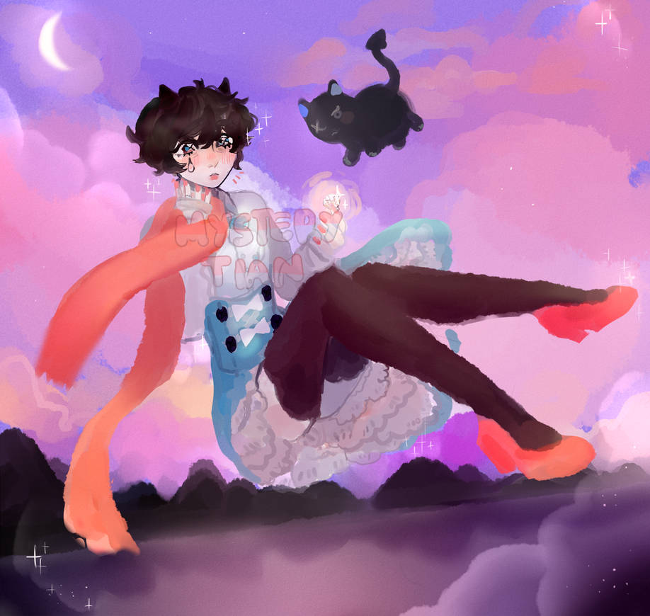 Magical Boy,Dont you know that I love you...?