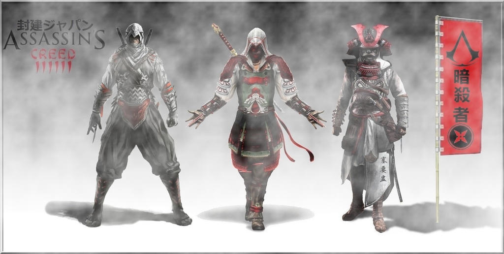 Assassins Creed 6 Feudal Japan China by hotblood143 on DeviantArt