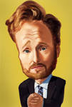 Conan O'Brien by ByunCaricature
