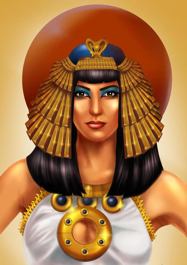 Cleopatra by psychoZeka
