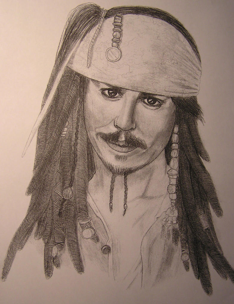 Jack Sparrow by x-spader-x