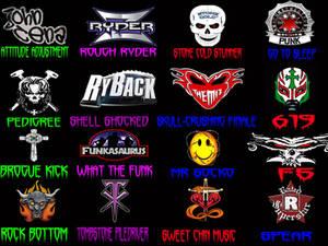 WWE Superstar finishers