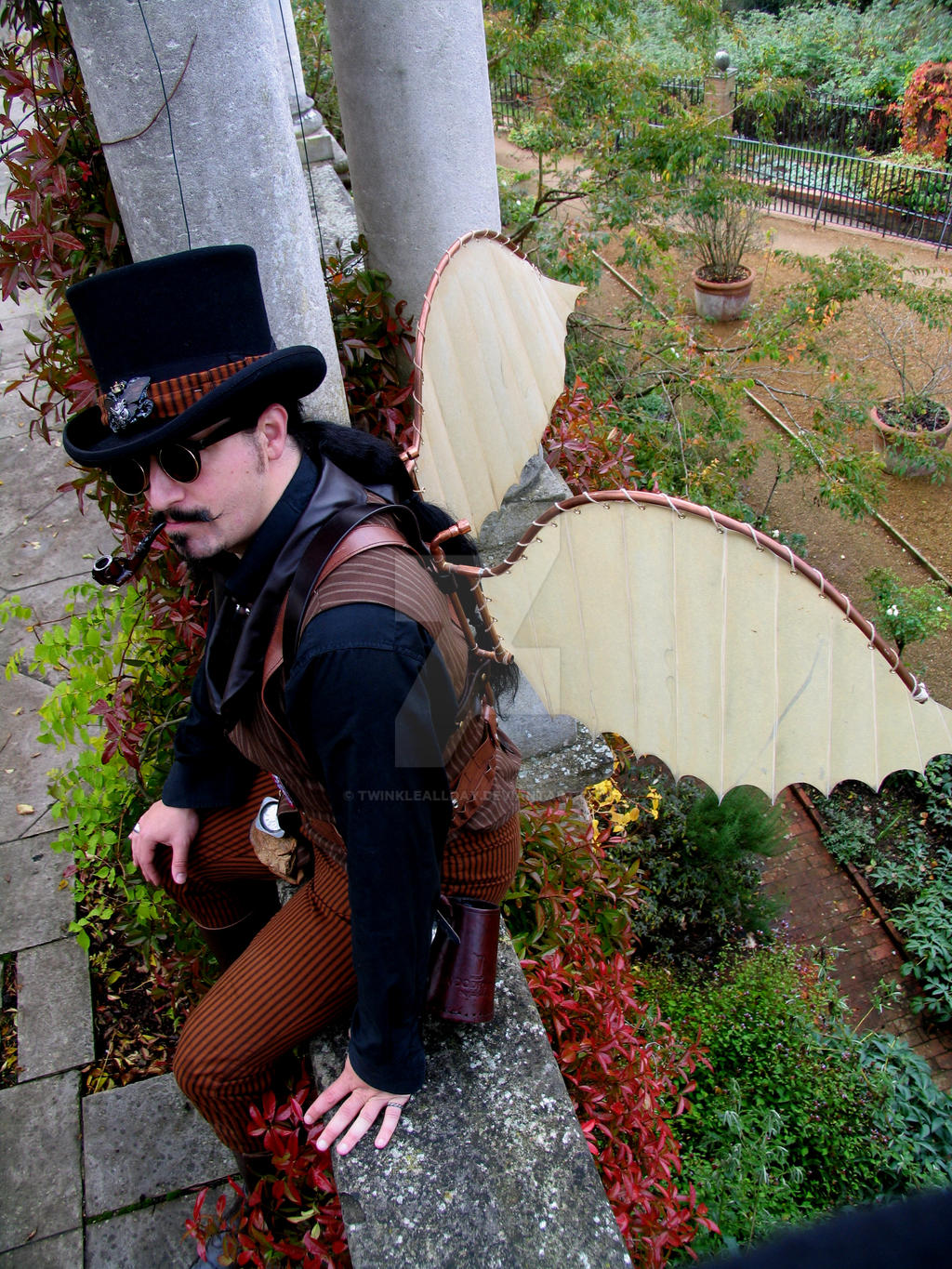 how to make steampunk wings