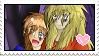 Red x Cory Stamp by Kitsunekocata