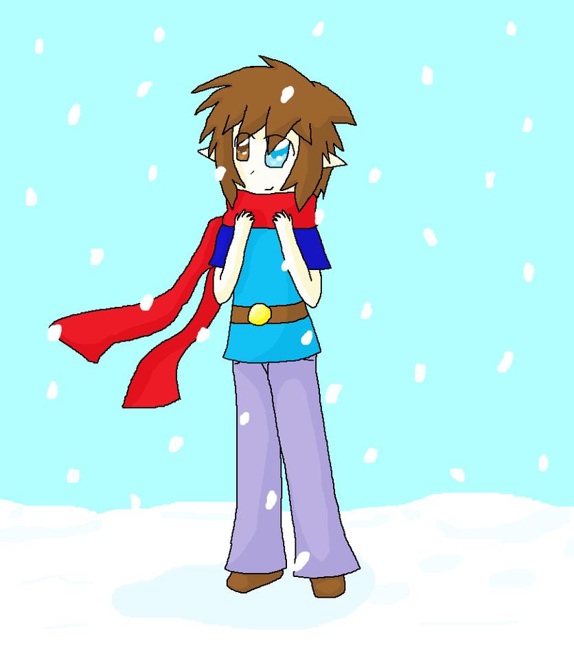 Snowing Remake by Kitsunekocata
