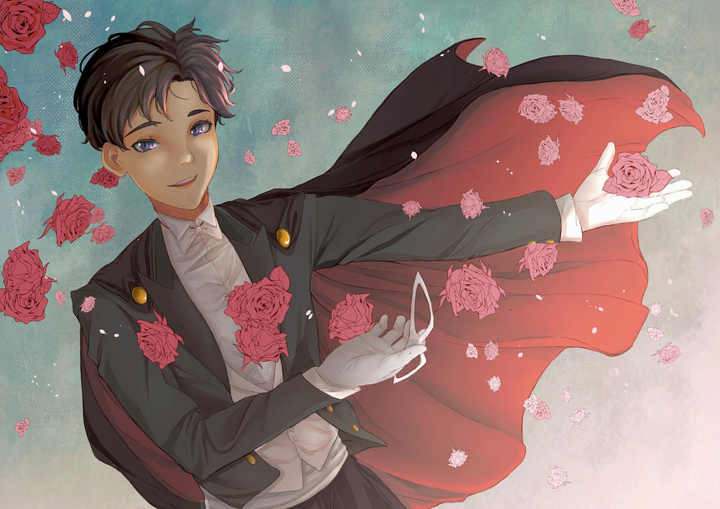 Tuxedo mask - Commission by Tediusman