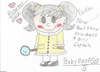 Reporter Julie by BabyPoof08