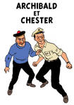 Young Haddock and Captain Chester