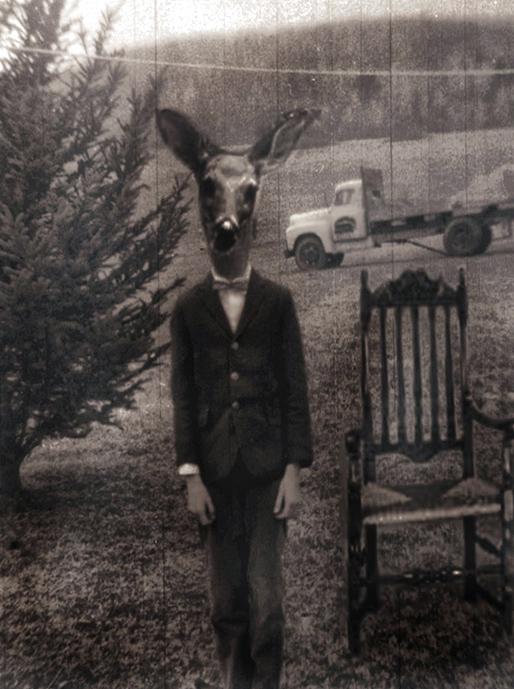 Dear Deerboy on the Farm by ClockworkMarionette