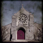 Calvary Cemetery Chapel by ClockworkMarionette