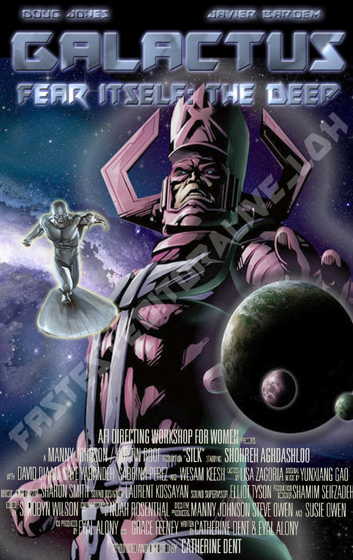 Galactus Movie Poster by WNieborg on DeviantArt