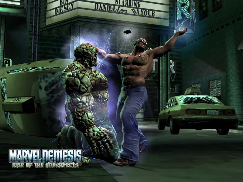 Marvel Nemesis: Rise of the Imperfects - Johnny Ohm ...  |Marvel Nemesis Johnny Ohm