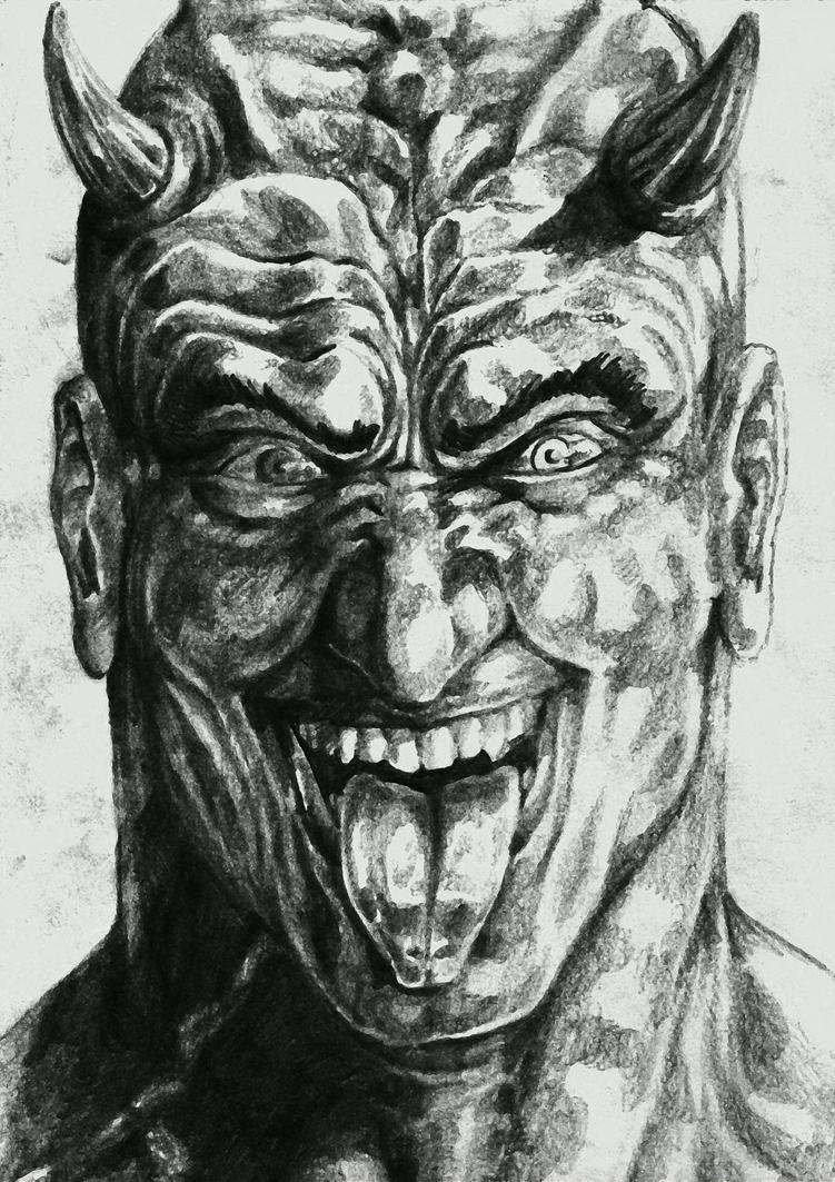 The Little Devil (Pencil) by Rayluaza on DeviantArt