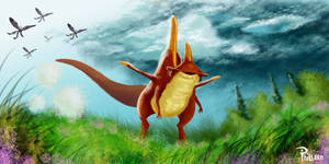 Crested Bungosaur by MisterPhillard