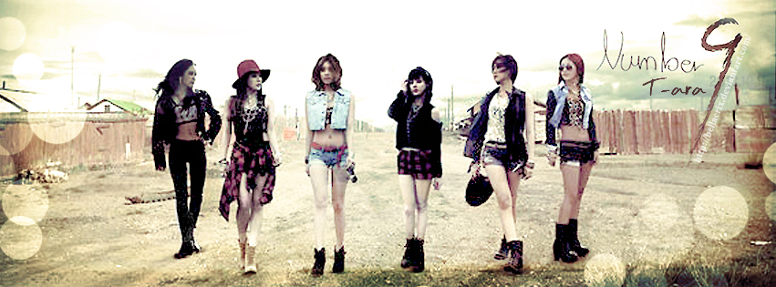 T-ara Number 9 FB Cove...T Ara Number 9 Wallpaper