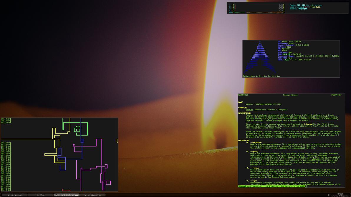 Arch Desktop by gurhush