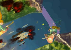 (Incomplete) Arcland: Assault the river blockade