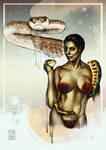 Blade Runner snake lady Zhora