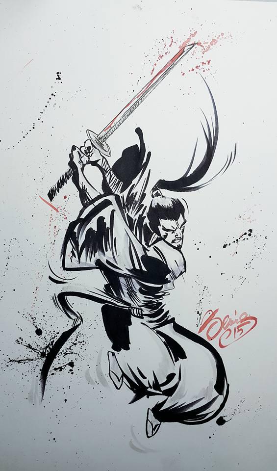 samuraisword by deniz-ince