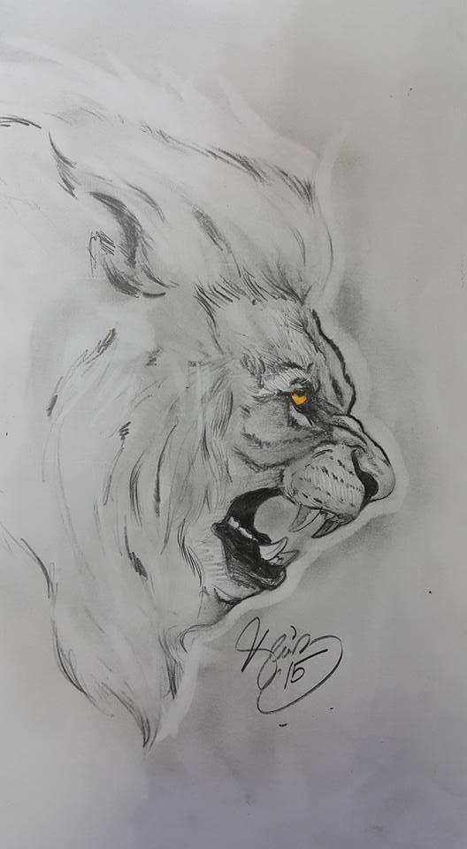 lion by deniz-ince
